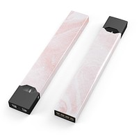 Skin Decal Kit for the Pax JUUL - Coral 39 Textured Marble