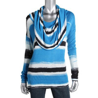 Pieces Womens Knit Long Sleeves Shawl-Collar Sweater