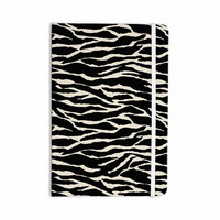 "Jacqueline Milton ""Safari"" Black Beige Mixed Media Everything Notebook"