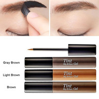 Professional Waterproof Eyebrow Tint My Brows Gel Makeup 3 Color Long lasting Peel Off Eyebrow Enhancer Eyebrow