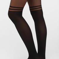 Gipsy Mock Over-The-Knee Stripe Tight