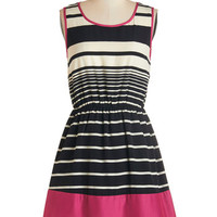 ModCloth Mid-length Sleeveless A-line Punch on the Porch Dress