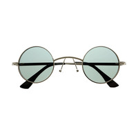 Unique Steampunk Retro Fashion Style Circle Round Sunglasses R3030