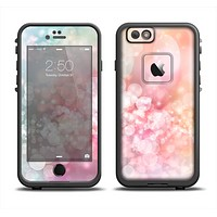 The Unfocused Pink Abstract Lights Apple iPhone 6 LifeProof Fre Case Skin Set