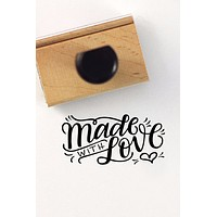 Stamp - Made with love - SALE