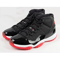 "AIR JORDAN 11 RETRO ""BRED"""