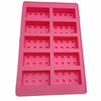 Brick Silicone Cake Chocolate Mold Ice Cube Ice Cream Molds DIY 3D Silicone Cake Mold Baking Tools Bakeware LM56