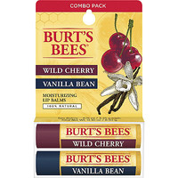 Wild Cherry/Vanilla Bean Moisturizing Lip Balms 2 Pk