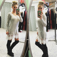 Touch of Lace Tunic