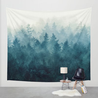 The Heart Of My Heart // So Far From Home Edit Wall Tapestry by Tordis Kayma