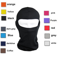 Lycra Balaclava Face Mask Ultra Thin Motorcycle Bike Winter Mask Cycling Ski Neck Gaiter Outdoor Dustproof Windproof Mask