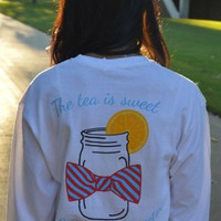Southern Accents Long Sleeve Pocket Tee - elle & k boutique