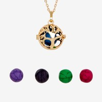Tree Of Life Interchangeable Charm Necklace