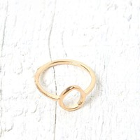 With Love From CA Cutout Teardrop Ring - Womens Jewelry - Gold - One