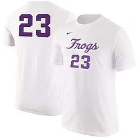 TCU Horned Frogs Basketball Number t-shirt by Nike