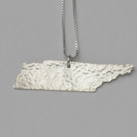 Tennessee State Necklace
