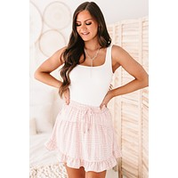Asher Double Layered Square Neck Tank Top (Ivory)