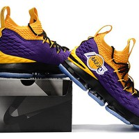 "Nike LeBron James 15 XV ""Lakers"" US 7-12"