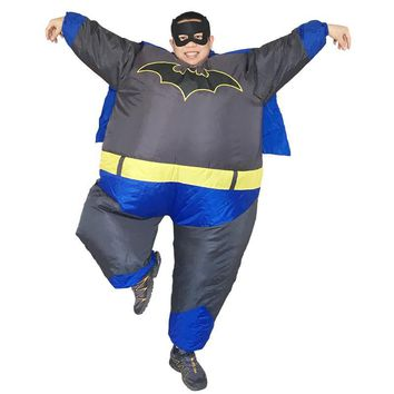 Batman Dark Knight gift Christmas Batman Inflatable Costume Cartoon Character Carnival Halloween Costume For Adult Party Fancy Dress Mascot Costume AT_71_6