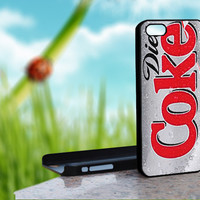 DIET COKE IC Design on Hard Case for iPhone 5