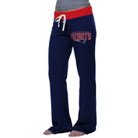 New England Patriots '47 Brand Women's Power Stretch Pants - Navy Blue
