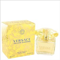 Versace Yellow Diamond by Versace Eau De Toilette Spray 3 oz for Women