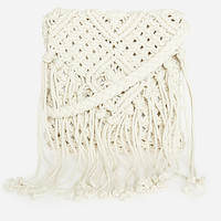 DailyLook: Crochet Fringe Purse