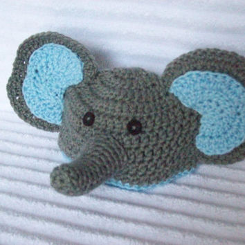 Baby Elephant hat, newborn elephant beanie, crochet elephant hat, newborn elephant hat, crochet elephant beanie, baby boy hat, photo prop