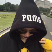 PUMA Rihanna Fenty Hooded Long-sleeved Scarf