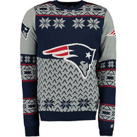 """New England Patriots Official Men's NFL """"Big Logo"""" Sweater by Klew"""