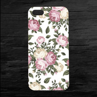 Faded Flowers iPhone 4 and 5 Case