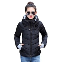 New Arrival Ladies Fashion Coat Winter Jacket Outerwear  Short Wadded Jacket Female