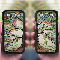 Samsung Galaxy S4,Color Tree in Pairs,samsung galaxy note 3 case,note 2 case,samsung galaxy S4 mini,S3 mini case,samsung galaxy s4 active