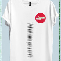 COCAINE WOMEN T-SHIRT code20882