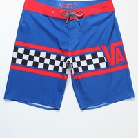 Vans Getting Crit Boardshorts - Mens Board Shorts - Red/White/Blue