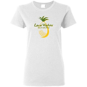 LOCAL WAHINE SWEET AND JUICY SHORT SLEEVE AND TANK TOP