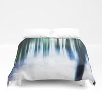 Magical Forests Duvet Cover by happymelvin