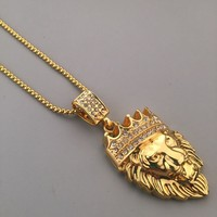 Stylish Shiny Jewelry New Arrival Gift Hot Sale Fashion Hip-hop Club Necklace [6542752963]