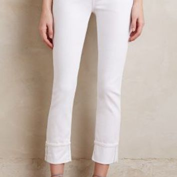 AG Stevie Cuff Jeans in White Size: