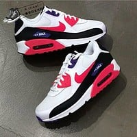 Nike Air Max 90 men's and women's sports and leisure cushioned cushioning running shoes