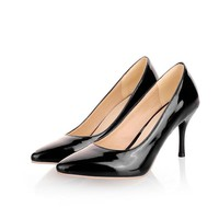 Brand New Sexy Black Naked Red High Heels Women Nude Glossy Pumps Ladies Normal Fashion Shoes AA-3 Big Size 4 11 30 47