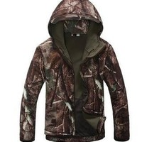 quality Lurker Shark skin Soft Shell TAD V 4.0 Outdoor Military Tactical Jacket Waterproof Windproof Sports Army Clothing