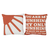 You Are My Sunshine Pillow Gift Set