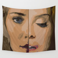 Half and Half Wall Tapestry by Max Freund | Society6