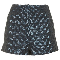 Pyramid Sequin Shorts - New In