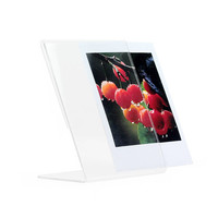 Photo Frame Fujifilm Instax Square SQ10 Film Holder Acrylic Crystal Clear Transparent Vertical