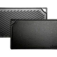 """Lodge LDP3 Double Play Reversible Grill/Griddle, 9.5"""" x 16.75"""""""