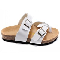 Birkenstock Woman Men Fashion Buckle Sandals Slipper Shoes