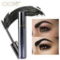 Cocoser 	eye mascara with box Waterproof Lengthening Curling Thick Eyelash  8.5ml Mascara
