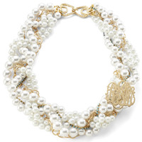Southern Living Glass Pearl Necklace - Perfect for the Modern Bride